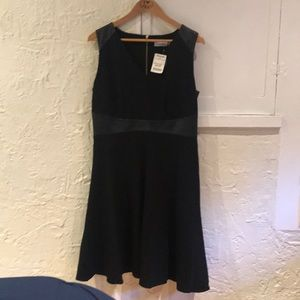Black sleeves Calvin Klein Dress